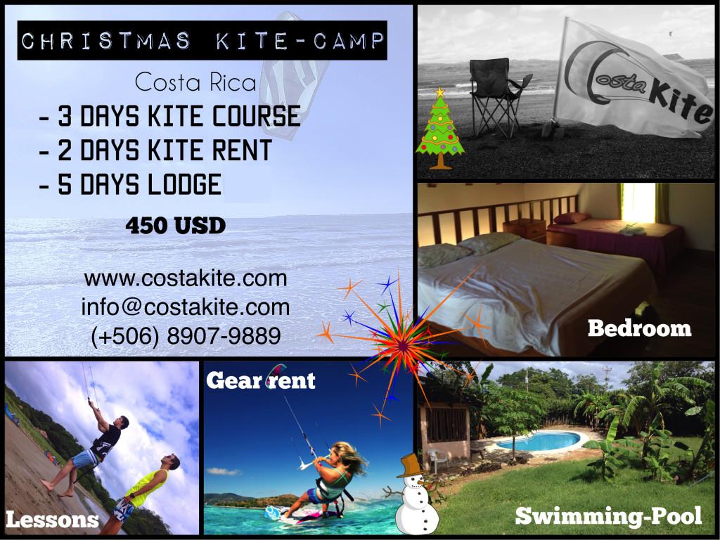 Christmas Kite camp costa rica