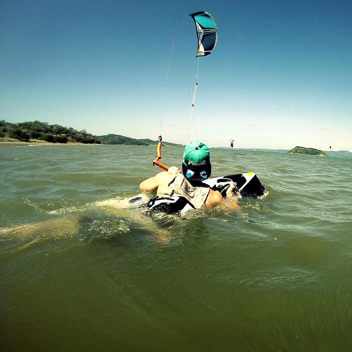 Kite Surfing Renesse Zeeland HD desktop wallpaper Widescreen